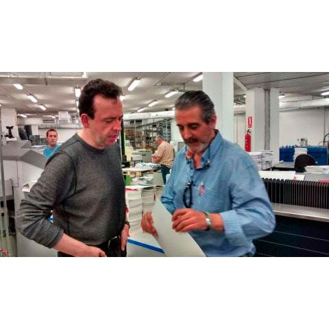Podiprint recibe la visita del partner de Colombia Hipertexto