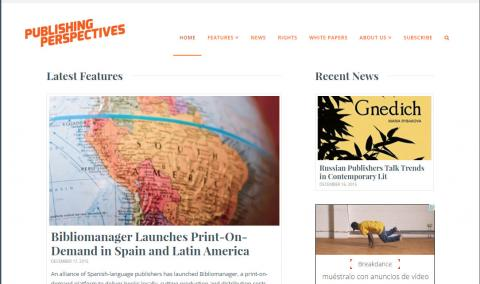 bibliomanager en la revista publishing perspectives