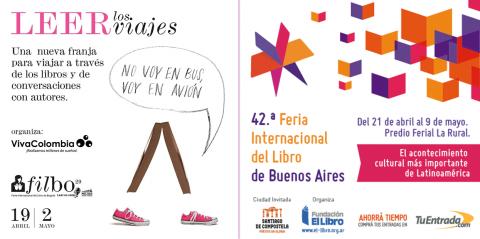 Podoprint participa feria del libro en Buenos Aires y Bogotá