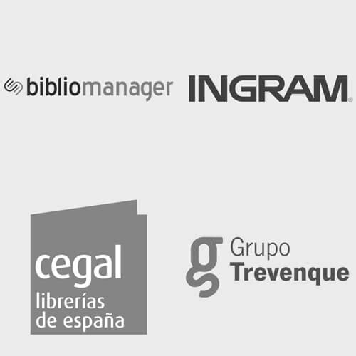 Logos partner: Blibliomanager, Ingram, Cegal, Grupo Trevenque