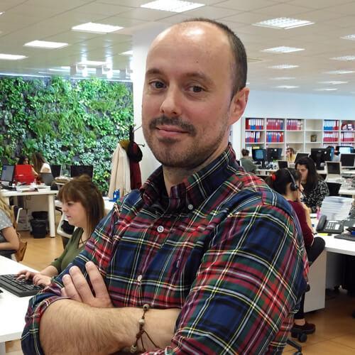 Javier Cancio Responsable de canales