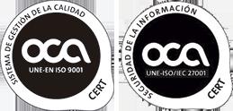 Podiprint cuenta con certificado de confianza OCA