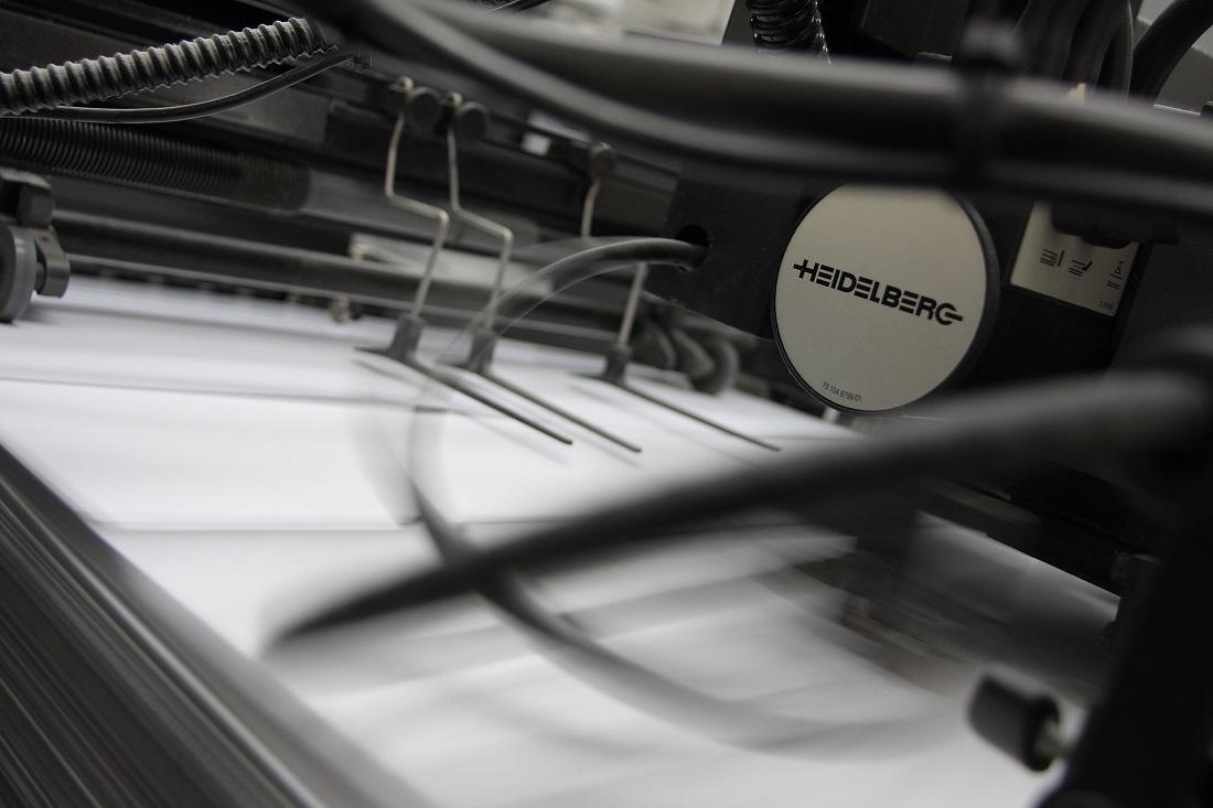 El medio ambiente se beneficia de la impresión bajo demanda.