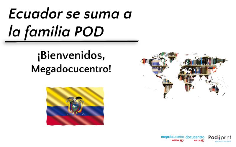 El catálogo del editor español ya está disponible en Ecuador a través de la modalidad POD