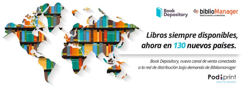 Bibliomanager y Book Depository refuerzan la distribución bajo demanda del libro en lengua hispana