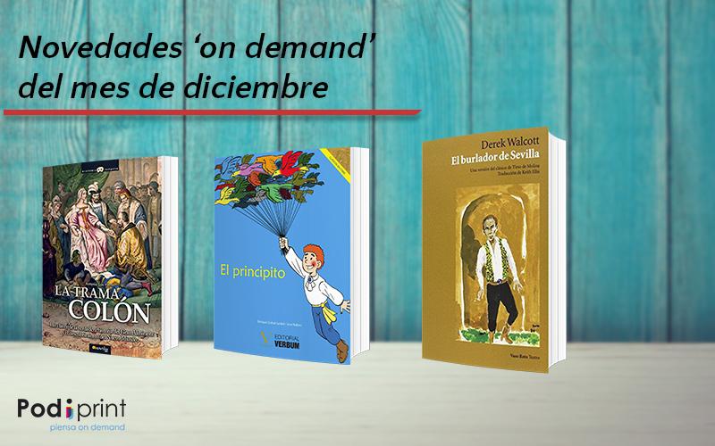 El catálogo de distribución de libros bajo demanda de Podiprint recibe estas novedades