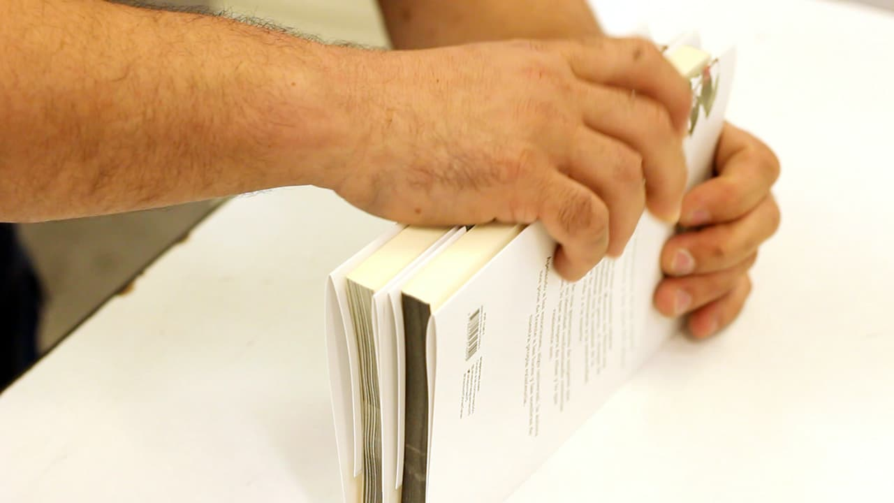 Manipulado libro bajo demanda