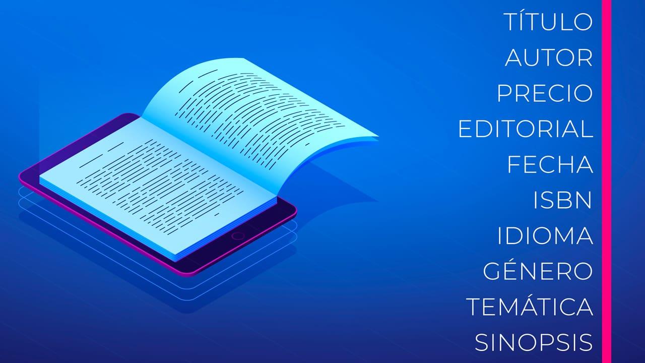 Libro con sus metadatos